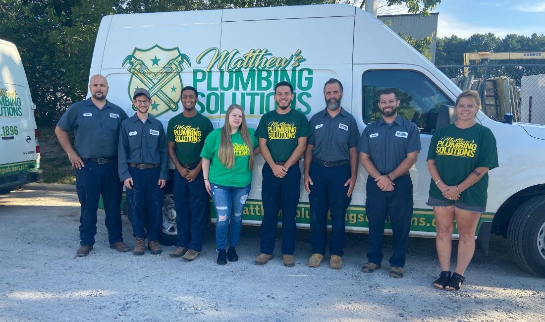 Matthews Plumbing Group Photo